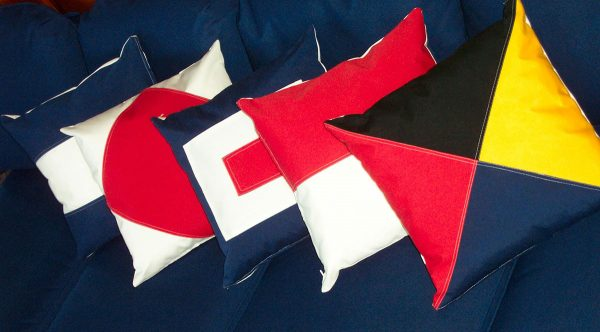 Signal Flag Pillows