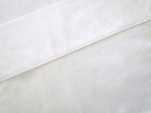 top sheet white